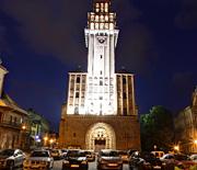 Plac św. Mikołaja wieczorem