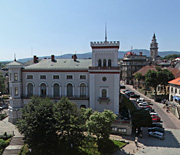 Plac Bolesława Chrobrego z lotu ptaka