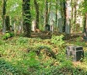 Grobowce rodzinne, z lewej grobowiec rodziny Troplowitz