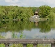 Fontanna Ryby nad kanałem regatowym