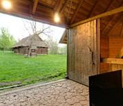 Podregion Pszczyńsko-Rybnicki - stodoła 8-boczna z Grzawy