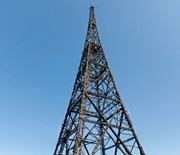 Maszt antenowy gliwickiej radiostacji