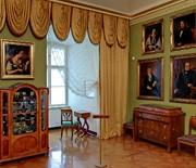 Salon w stylu biedermeier