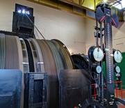 Kopalnia Guido w Zabrzu: nadszybie - maszyna wyciągowa