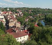Panorama Cieszyna z Wieży Piastowskiej