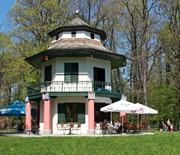Park w Żywcu - Chiñski Domek