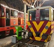 Górnośląskie Koleje Wąskotorowe w Bytomiu - warsztat