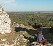 Panorama z Góry Zborów