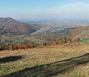 Panorama z Góry Żar (kierunek północ)