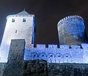 Zamek nocą