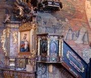 Ołtarz z wizerunkiem św. Jóżefa