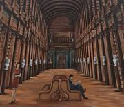 Murale na Miejskiej Bibliotece Publicznej w Ustroniu