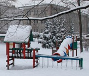 Ustroń zimą