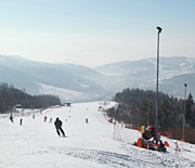 Panorama z Góry Żar (kierunek Żywiec)