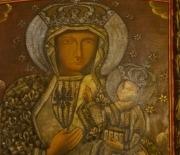 Ołtarz z obrazem Matki Bowskiej Częstochowskiej