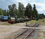Pociąg turystyczny przed odjazdem