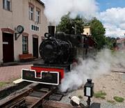 Odjazd pociągu tyrustycznego