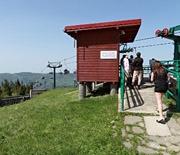 Krzesełkowa kolej linowa - stacja górna