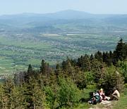 Skrzyczne - panorama