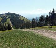 Panorama z Klimczoka