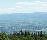 Panorama z Magurki