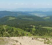 Góra Pięciu Kopców - panorama