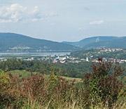 Panorama Żywca ze Średniego Grojca