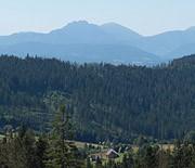 Panorama Tatr z Bendoszki Wielkiej