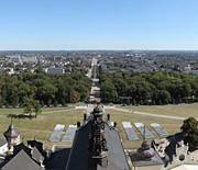 Panorama z wieży - kierunek wschód
