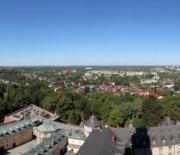 Panorama z wieży widokowej - kierunek północ