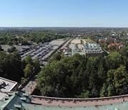 Panorama z wieży widokowej - kierunek zachód