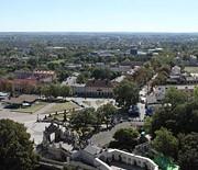 Panorama z wieży - kierunek południe